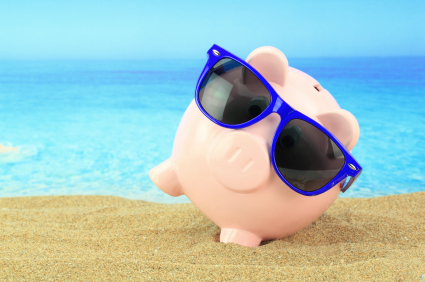 Beach Piggy Fights the Summer Slump