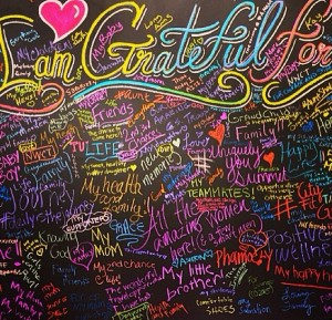 Gratitude Wall at the PA Conference for Women