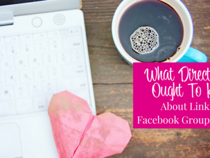 What Direct Sellers Ought to Know About Linking a Facebook Group to a Page